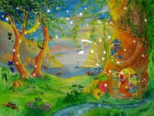 Summer Evening -  große Version mit 48 Lichtern und Klang