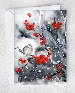 Rote Winterbeeren