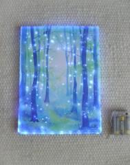Green forest - Zauberwald - Lichtgemälde